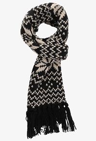 Fair Isle scarf-$8