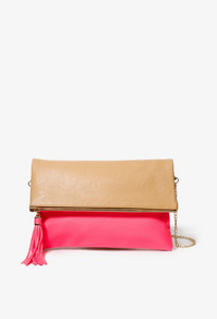 Color block bag-$20