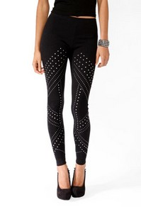 Studded leggings-$15