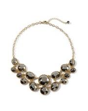 Sparkle bib necklace-$68