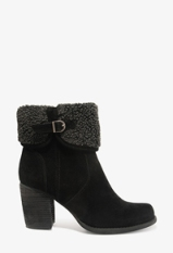 Cuffed boots-$20