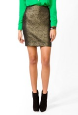 Metallic skirt-$9