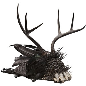 Porcupine headdress