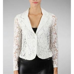 Lace blazer-$30