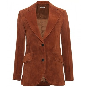 Just for fun-Miu Miu suede blazer-$