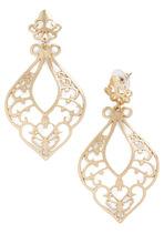 Baroque style earrings-$15