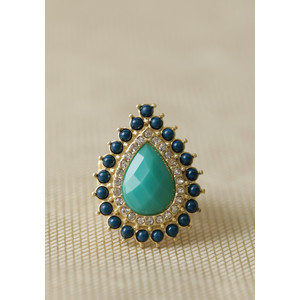 Teardrop ring-$13