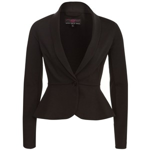 Subtle peplum blazer-$24