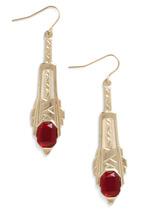 Art Deco earrings-$12