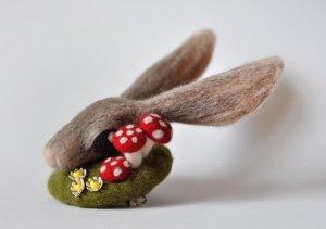 Rabbit fascinator