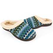 Fairisle slippers-$24