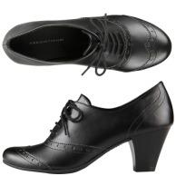 Women's heeled brogues-$27