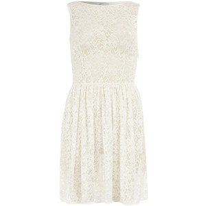 White lace dress-$35