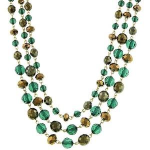 Emerald Isle necklace-$39