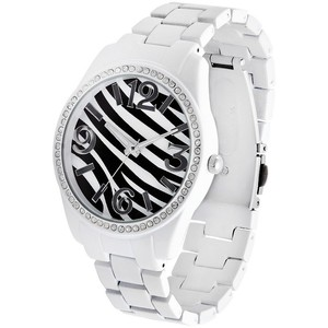 Zebra print watch-$17