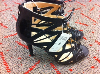 I almost bought these-they are amazing!  The only thing that stopped me is the steep angle of the shoes.