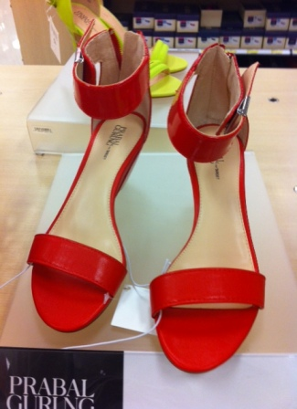 Red wedges-$30