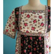 Patchwork floral dress-$42