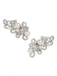 Pearl scroll ear cuffs-$2