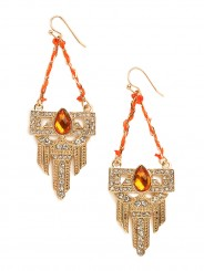 Phoenix drop earrings-$28