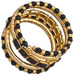 Egyptian spiral wrap bracelet-$40
