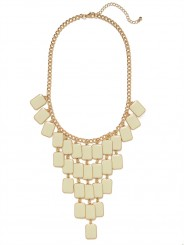 Ivory chandelier bib-$
