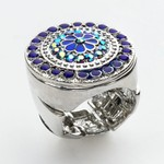 Love the blues in this ring-$15