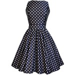 What a great polka dot dress-perfect for any wedding but especially for an outdoor one-$40