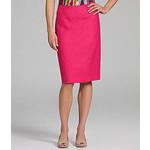 Linen pencil skirt-$34