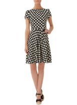 Love the pretty polka dot print-$49