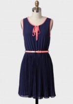 I just love navy blue and pink-$45