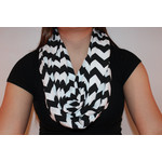 Fabulous chevron eternity scarf-$15