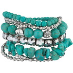 Turquoise arm party-$