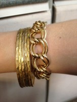 This is my arm party for today.