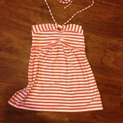 Fun striped top-$8