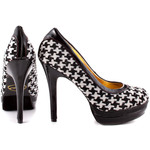 Fun houndstooth heels.  Purchase here.