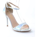 Beautiful hologram heels-$24