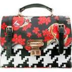 Love the mixed prints on this bag!  Purchase here.