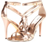 A metallic shoe is great for spring and summer.  $20